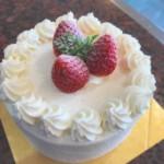 当日デコレーションケーキ