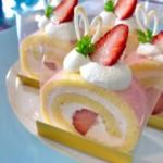 苺のロールケーキ『ルーロ フレーズ』